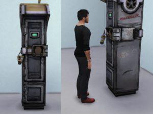 Постапокалиптический набор мебели от rumorukaraizon для Sims 4