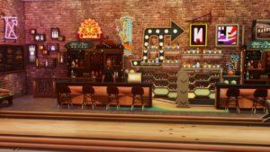 Кинотеатр и клуб боулинга от shysimblr для Sims 4