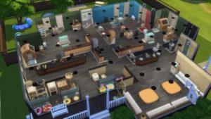 Сельская ветеринарная клиника от 86tigerlady86 для Sims 4