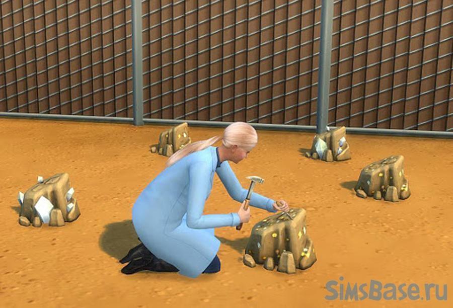 Мод «Меньше капсул времени при копании» от Menaceman44 для Sims 4