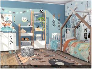Мебель для детской комнаты «Дакота» от Severinka для Sims 4