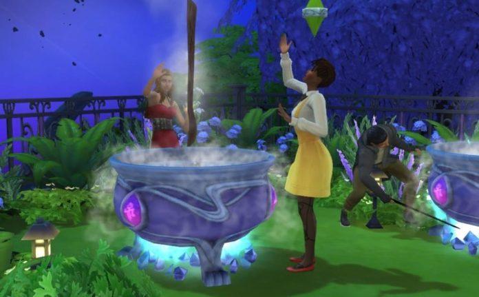 Мод «Событие Шабаш ведьм» от Ilkavelle для Sims 4