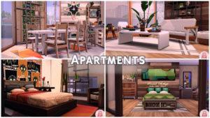 Полная застройка Эвергрин-Харбор от MikkiMur для Sims 4