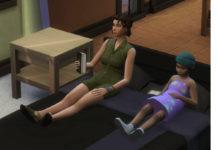 Мод «Чтение книг на кровати» от thepancake1 для Sims 4