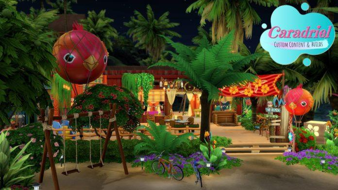 Пляж Сулани от Caradriel для Sims 4