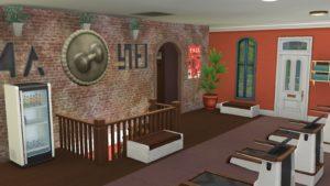Спортивный центр Виллоу Крик от JudeEmmaNell для Sims 4