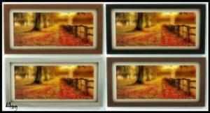 Набор картин «Осень» от Magnum Patrol для Sims 4