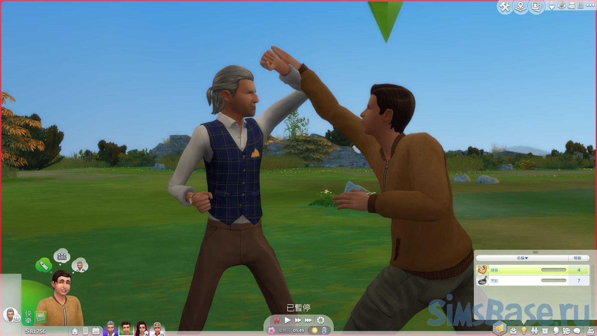 Мод «Спарринг доступен для всех возрастов» от ShuSanR для Sims 4