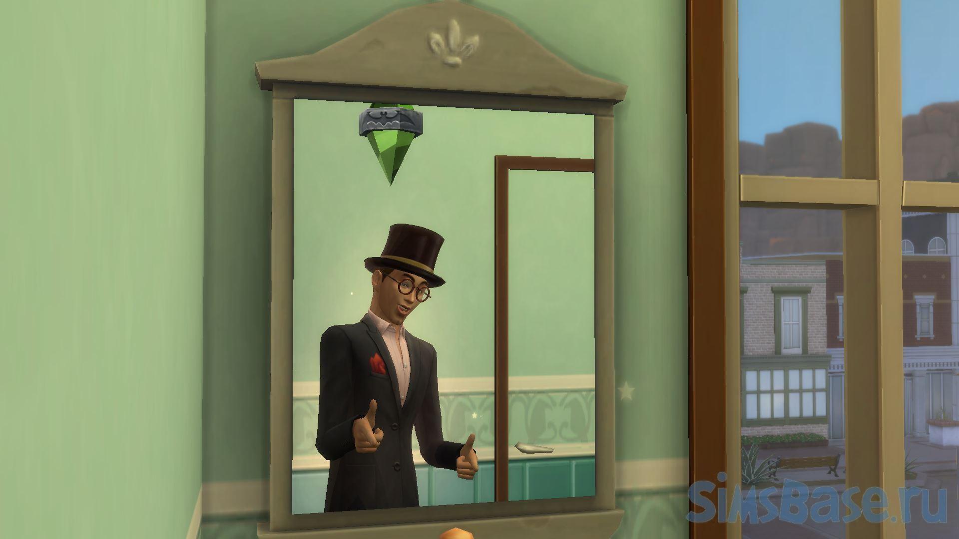 Мод «Управление отражением вампиров в зеркале» от TwelfthDoctor1 для Sims 4