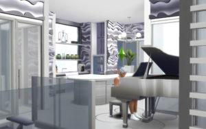 Жилой дом «Облачко» от alexiasi для Sims 4