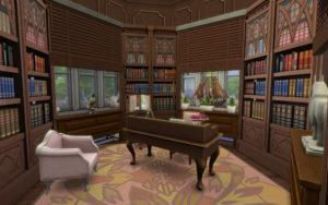 Жилой дом «Розовый замок» от alexiasi для Sims 4