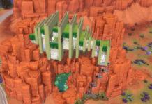 Жилой дом «Среди скал» от alexiasi для Sims 4