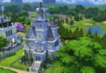 Жилой готический особняк от alexiasi для Sims 4