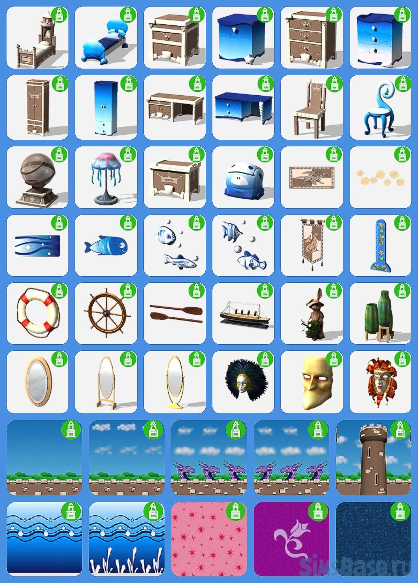 Набор мебели «Family Fun» от  simsi45 для Sims 4