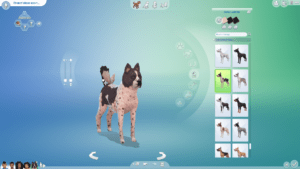 Мод «Слайдер роста собак» от pixelpfote для Sims 4