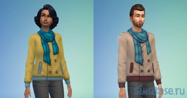 Какие вещи лучше связать в Sims 4 Нарядные нитки. Часть 1