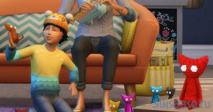 Какие вещи лучше связать в Sims 4 Нарядные нитки. Часть 2