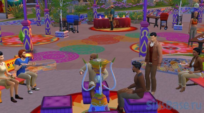 Мод «Сядь, покушай и изучи новые зелья» от Lotharihoe для sims 4