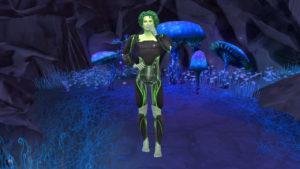 Набор фонов для CAS «Сиксим» от ladybetty для Sims 4