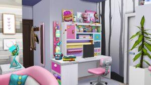 Квартира улица Шик 21-1312 от Aveline для Sims 4