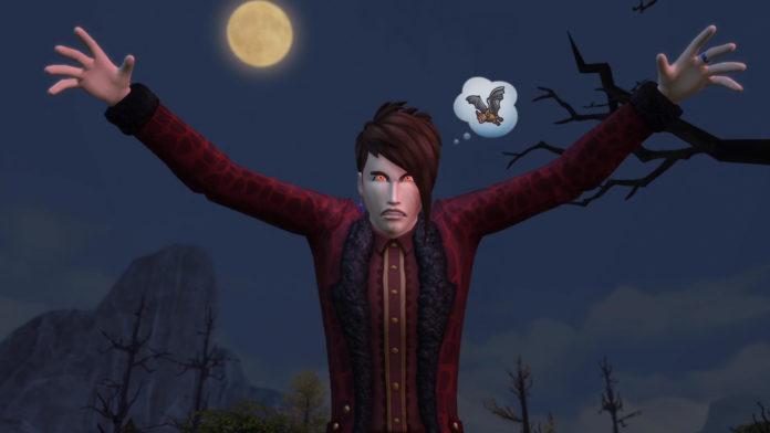 Мод «Черта характера Боязни вампиров» от plzsaysike для Sims 4