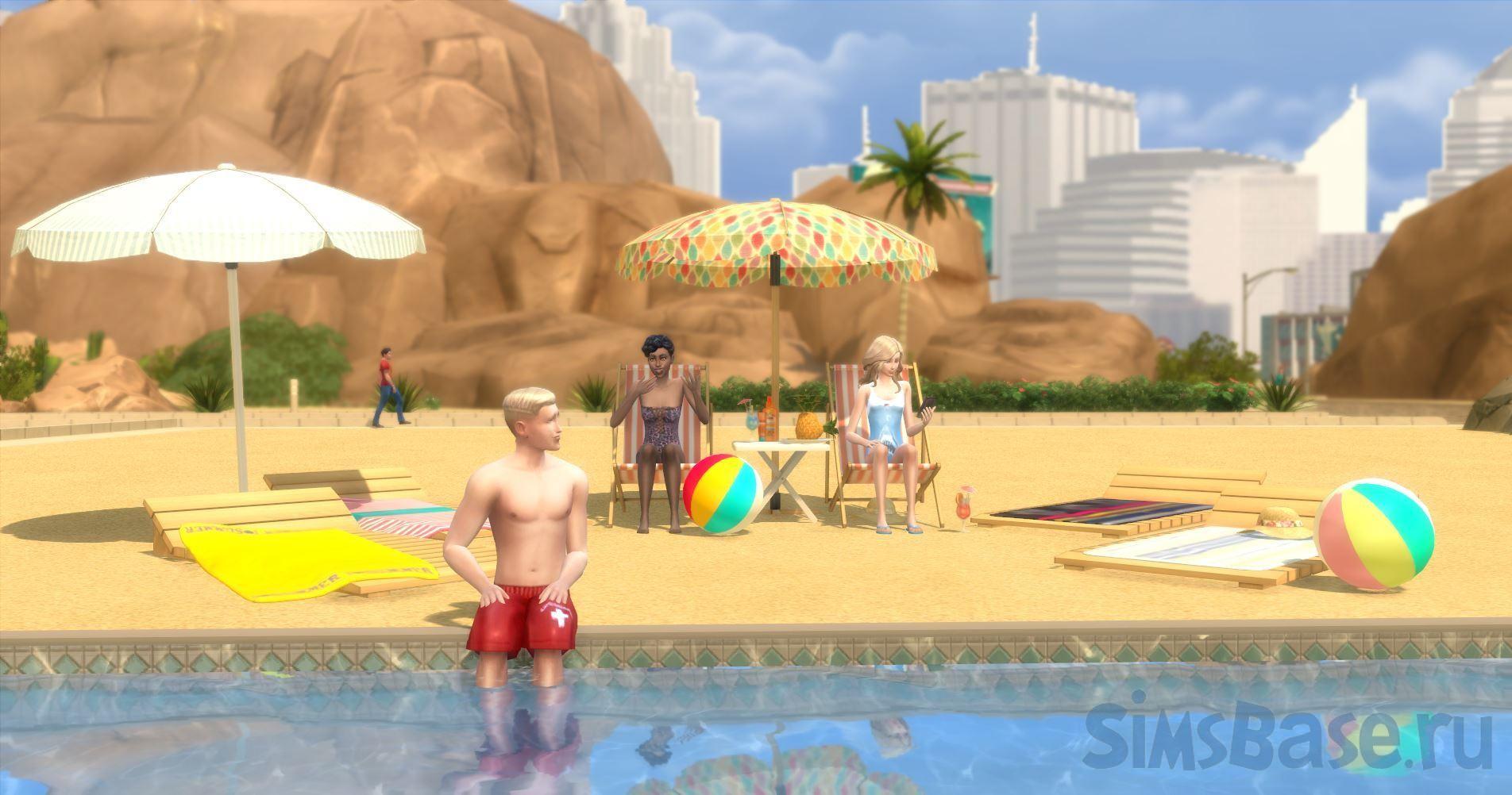 Мод «Доступность пляжей для сбора коллекций» от ShuSanR для Sims 4