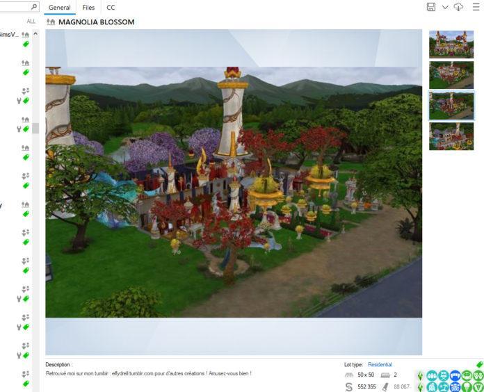 Мод-приложение «Sims 4 Tray Importer» от deevo для Sims 4