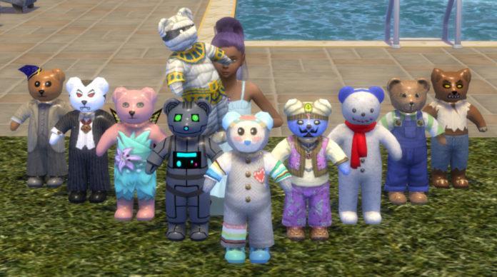 Набор игрушек «Мишки из TS3» от JHellraiser для Sims 4