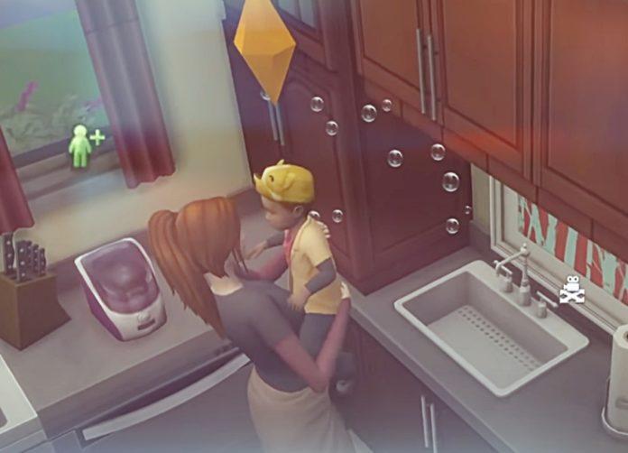Мод «Исправление умывания малышей» от YourFalseHope для Sims 4