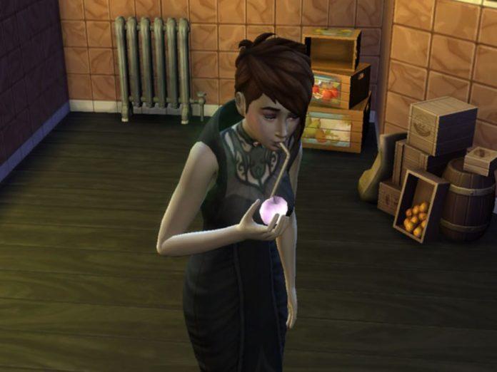 Мод «Утоление жажды вампиров» от ShuSanR для Sims 4