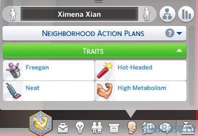 Мод «Добавь плохую черту характера» от 13pigpen для Sims 4