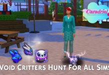 Мод «Поймать Призраков Бездны смогут все» от Caradriel для Sims 4