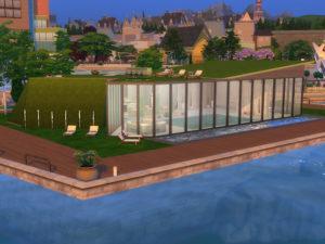 Спа-центр «Vika Bad» от KyriaT для Sims 4