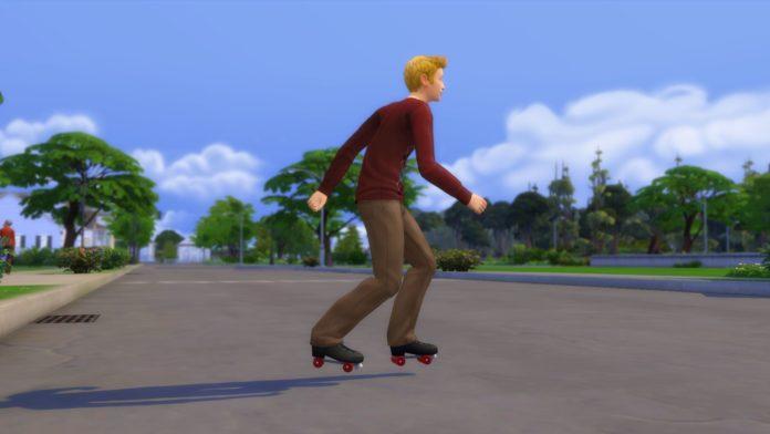 Мод «Роликовые коньки как вариант обуви» от ShuSanR для Sims 4