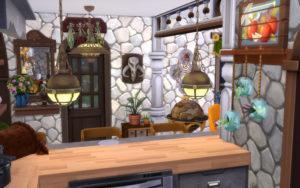 Жилой дом «Тыковка» от alexiasi для Sims 4