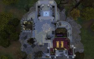 Замок вампиров от alexiasi для Sims 4