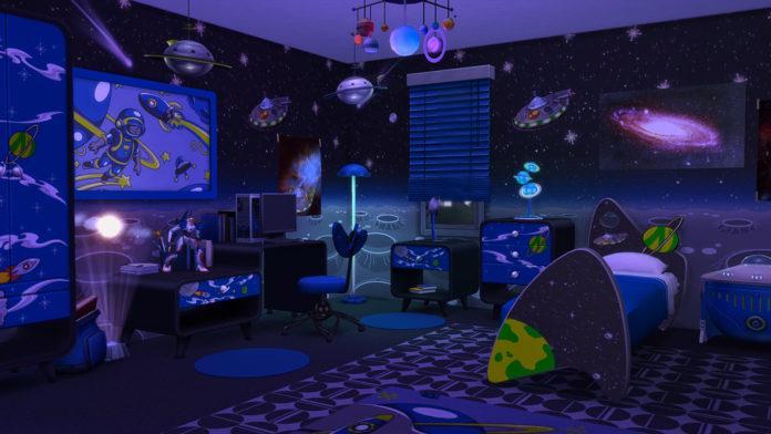 Набор мебели «Андромеда» от simsi45 для Sims 4
