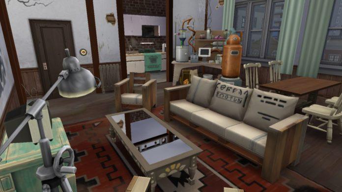 Заброшенная квартира Калпеппер Хаус 19 от xmathyx для Sims 4