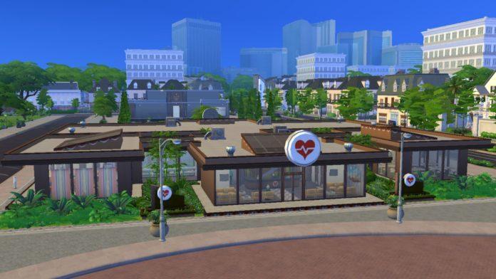 Областная больница от xmathyx для Sims 4