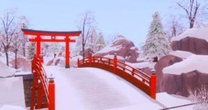 Загрузочные экраны Снежные просторы от Alerion для Sims 4