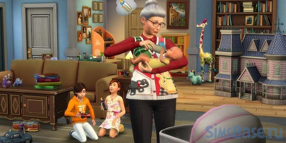 Как в Sims 4 вырастить идеального малыша. Часть 2