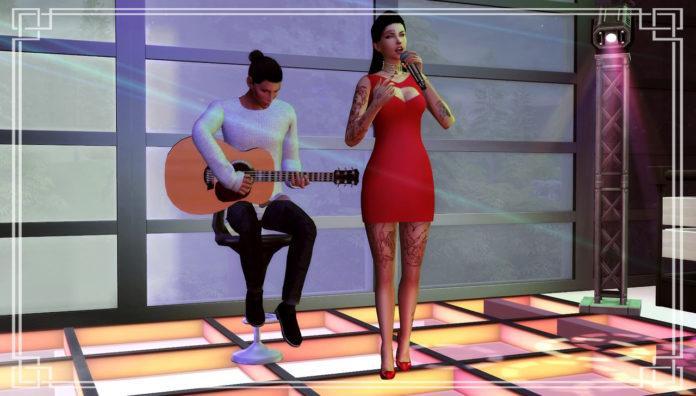 Как стать знаменитым певцом в Sims 4. Часть 1