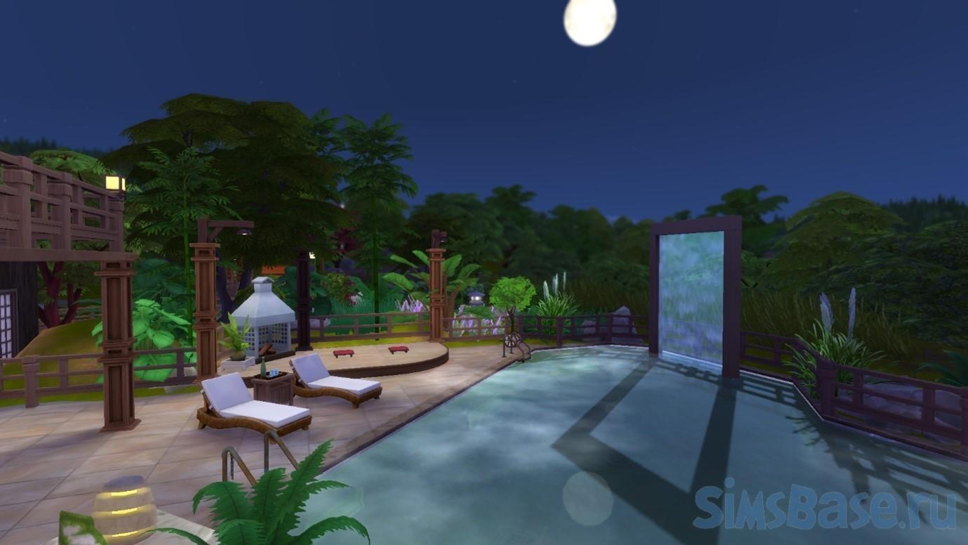 Максимальное использование режима строительства в Sims 4 Снежные просторы – Баня