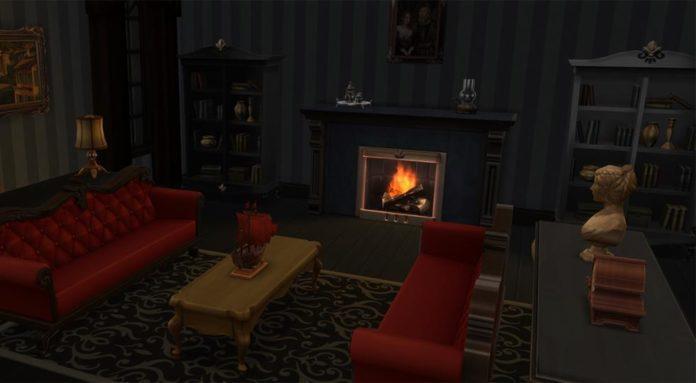 Мод «Синего оттенка ночного света» от luumia для Sims 4