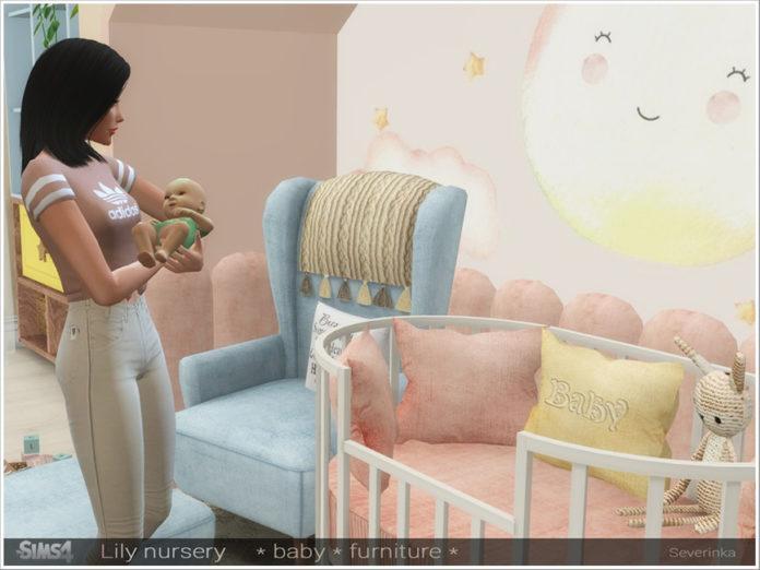 Набор мебели «Лилия» от Severinka для Sims 4