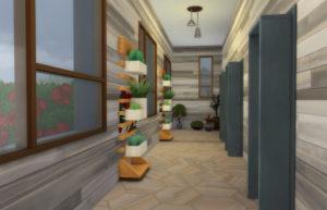 Жилой дом «Зеленый замок» от lolakret для Sims 4