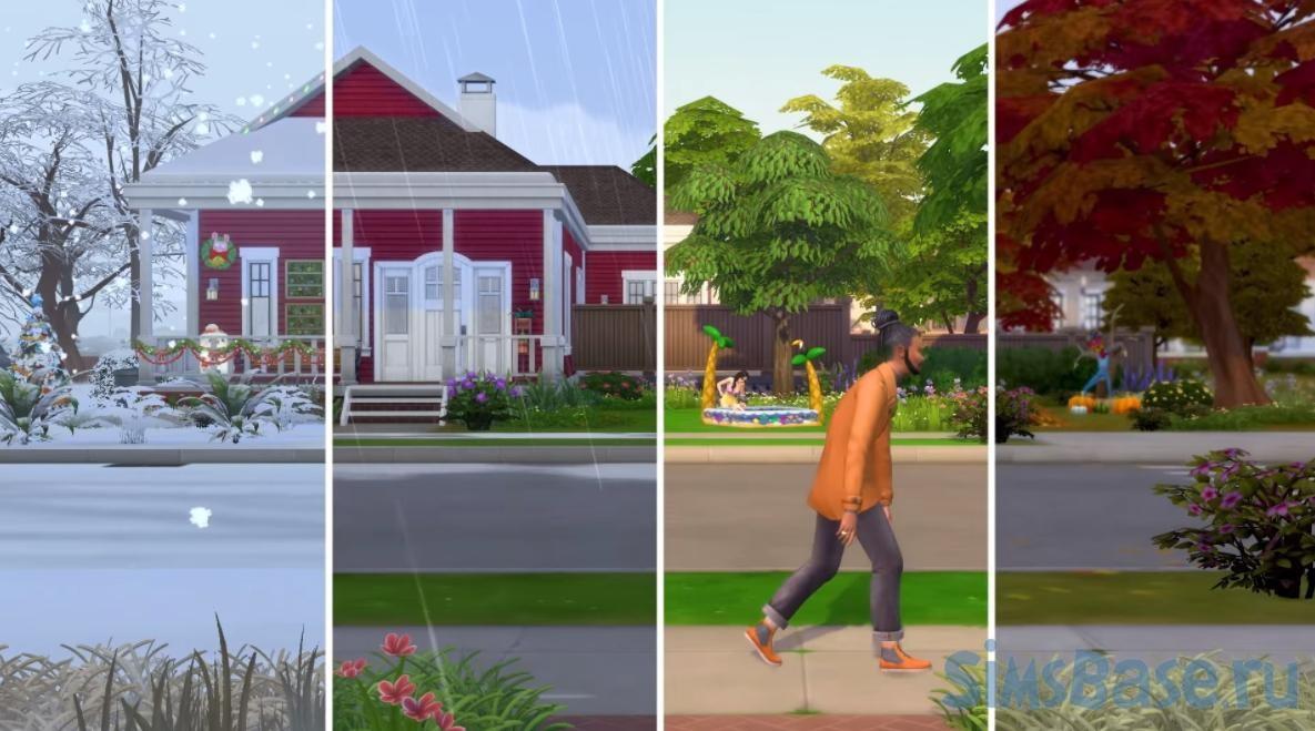 Мод «Приложение погода для симов» от littlemssam для Sims 4