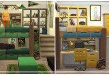 Пошаговое руководство Sims 4 по созданию двухъярусных кроватей без CC