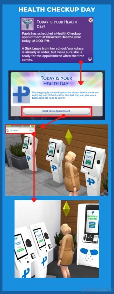 Мод «Частная практика 2.0.0» от SimRealist для Sims 4