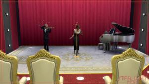 Ночной клуб Старлайт Студио от Axaba для Sims 4